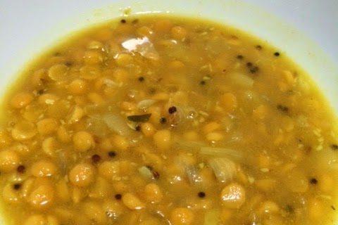 Chana Dal Curry Soup